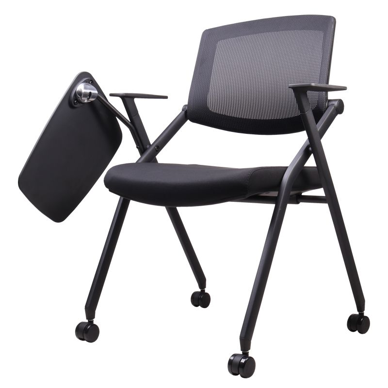 TRACER LECTURE CHAIR WITH TABLET AND CASTER
