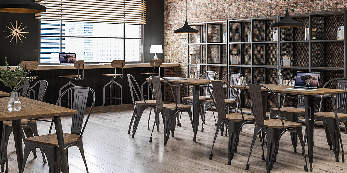 CAFE & RESTAURANT | INDUSTRIAL | TOLIX CHAIR