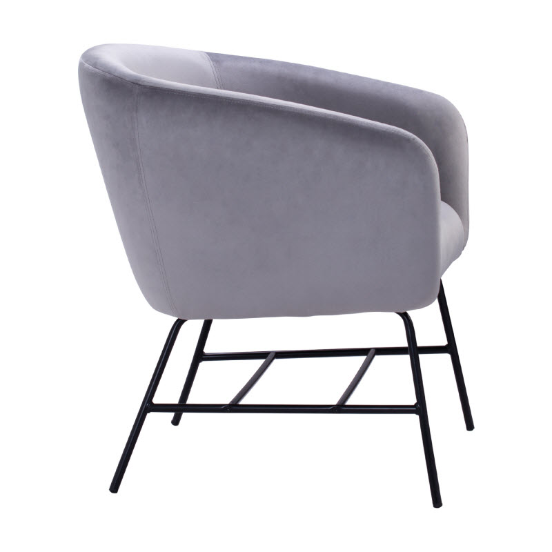 COLES LOUNGE CHAIR - GREY 3609