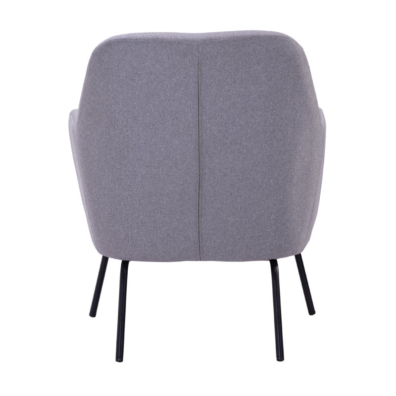 CARRIE LOUNGE CHAIR - GREY 6521