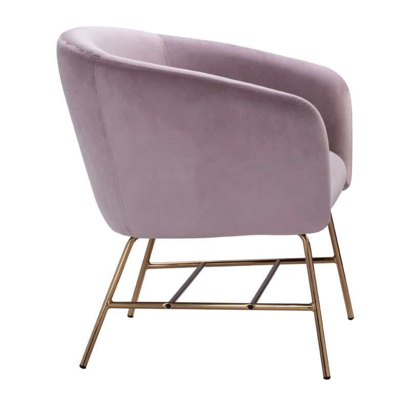 COLES LOUNGE CHAIR - PINK 3607
