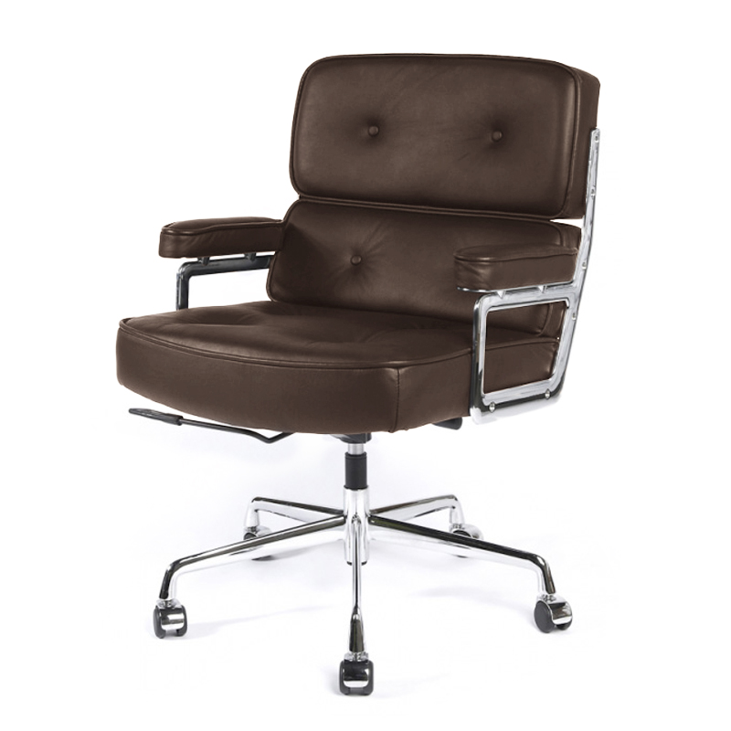 REPLICA LOBBY EXECUTIVE OFFICE CHAIR (FULL LEATHER) (DISPLAY ITEM)