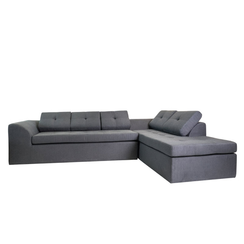 SHARON L-SHAPE SOFA (FABRIC) - (DISPLAY ITEM)