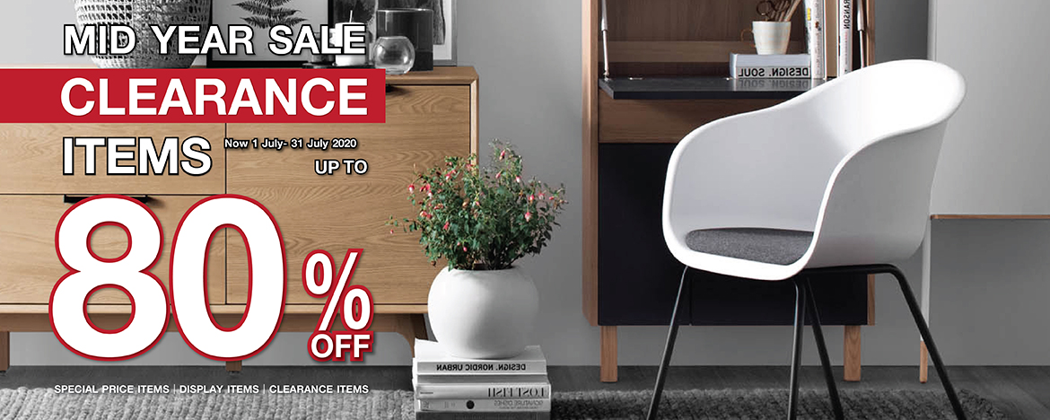 CLEARANCE ITEMS MID YEAR SALE 2020