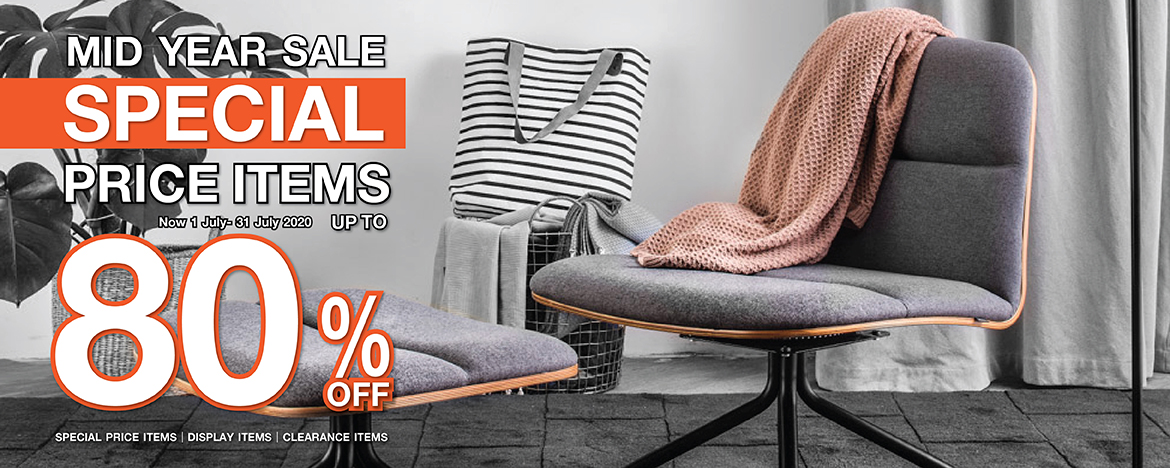 SPECIAL PRICE ITEMS MID YEAR SALE 2020