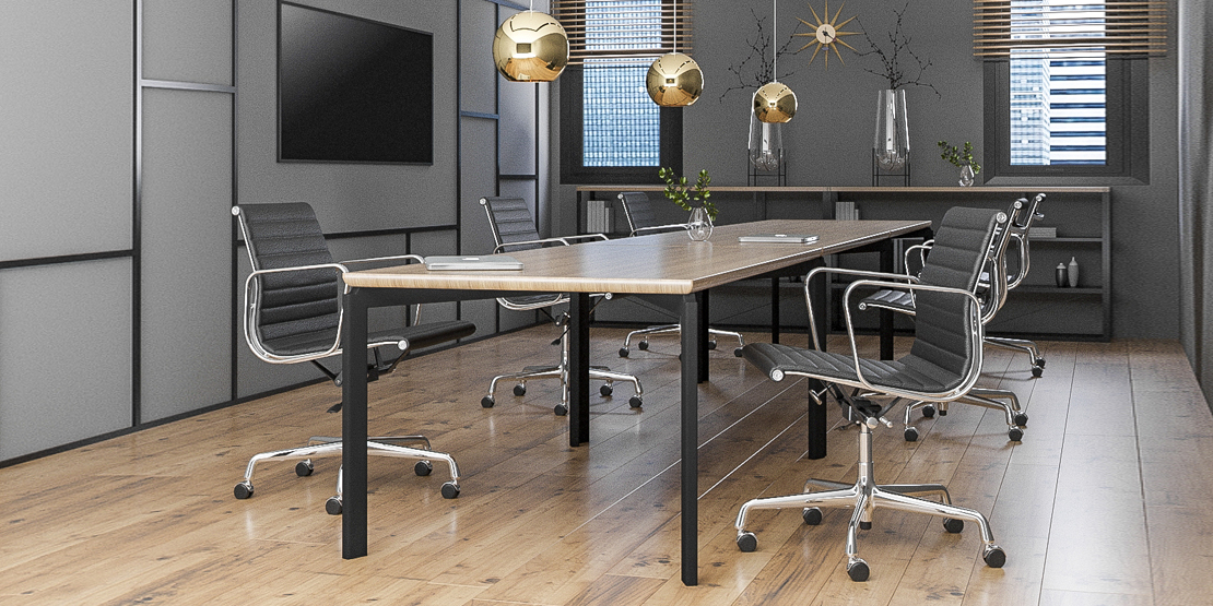 OFFICE SPACE | NORDIC | EAMES LOW BACK OFFICE CHAIR