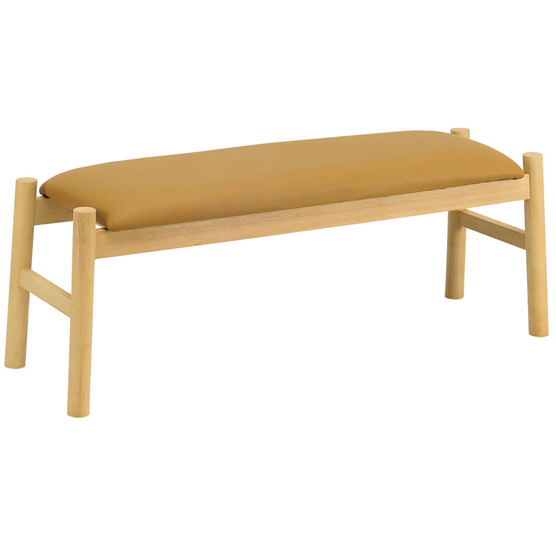 TASSEL NORDIC HOME LONG BENCH WITH CUSHION