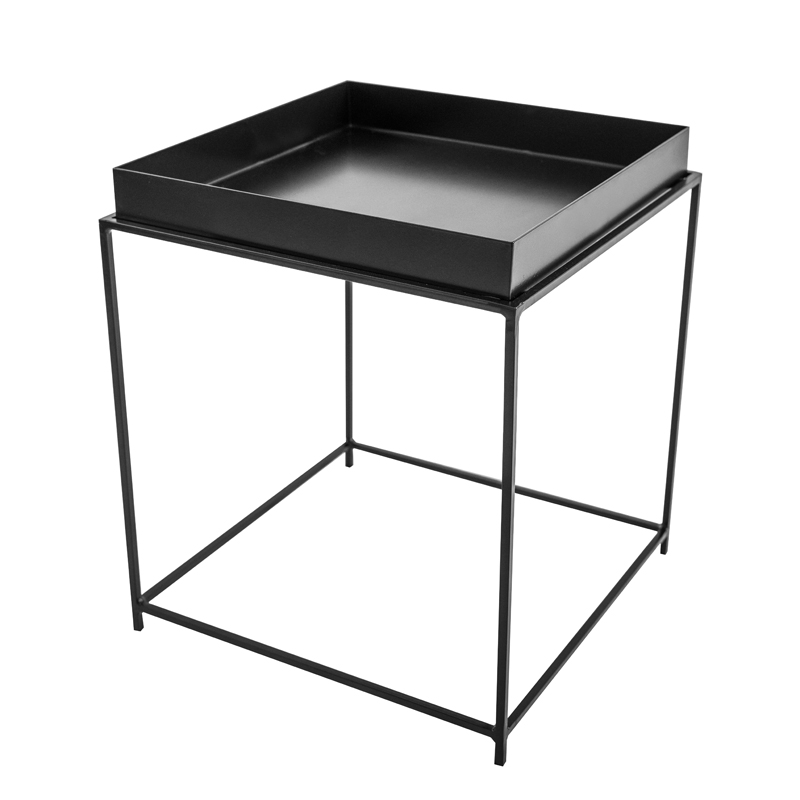 TERRA SQUARE TRAY SIDE TABLE