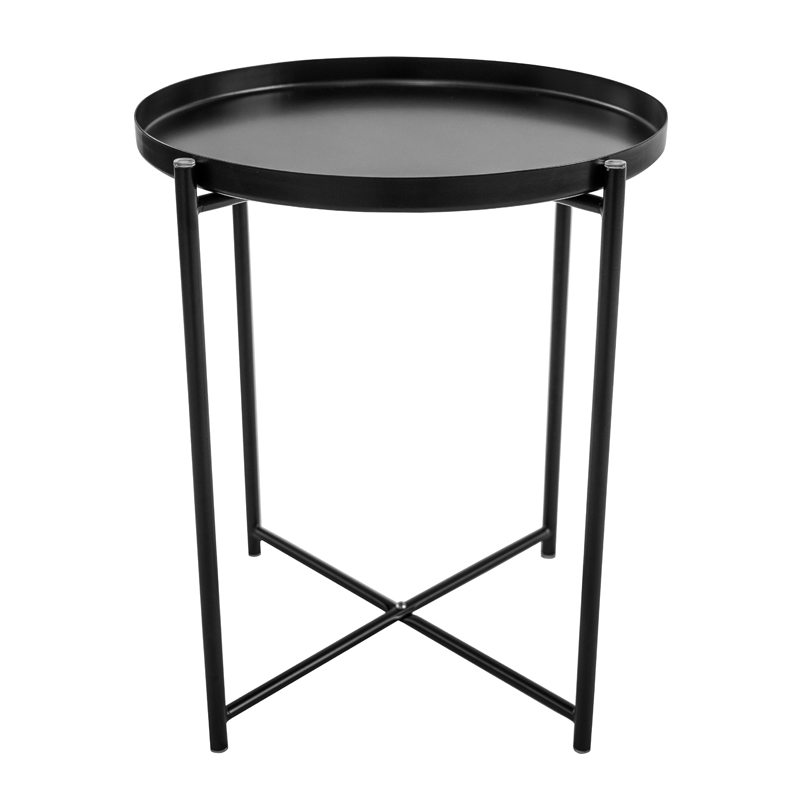 TERRA ROUND TRAY SIDE TABLE